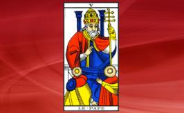 The Pope Tarot card