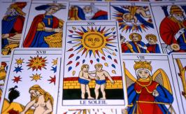 The Moon - Tarot of Marseille