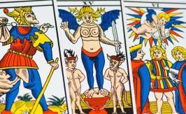 The Mountebank - Tarot of Marseille