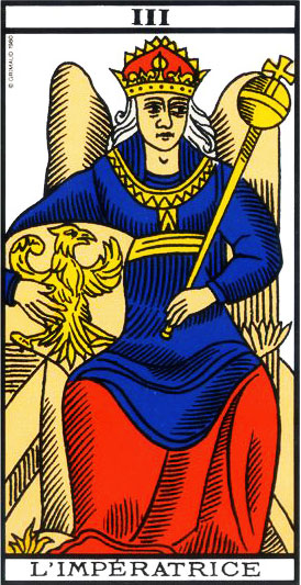 The Empress - Tarot of Marseille