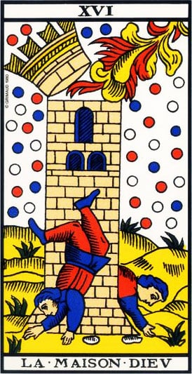 The House of God - Tarot of Marseille