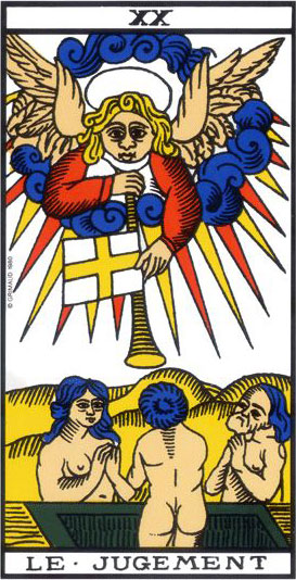 tarot card the judgment