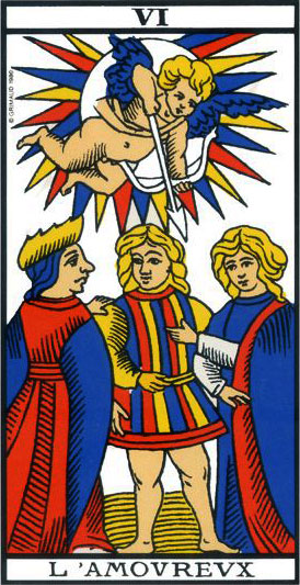 The Lovers - Tarot of Marseille