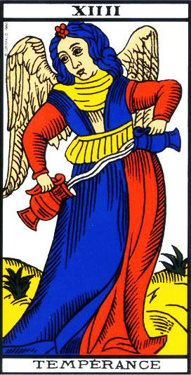 The Temperance - Tarot of Marseille