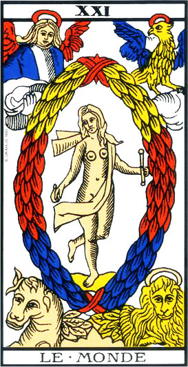 The World - Tarot of Marseille